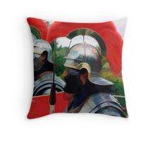 Roman Soldiers Throw Pillow