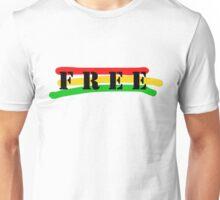 Free Raggae Music Ska Rasta Weed Smoke Unisex T-Shirt