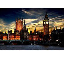 London's burning Photographic Print