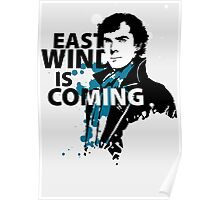 East Wind is coming Poster