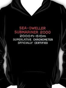 Double Red Sea Dweller - Rolex T-Shirt