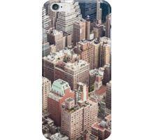 Aerial view of NY iPhone Case/Skin