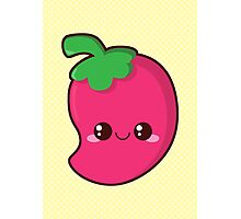 Kawaii Chilli Photographic Print