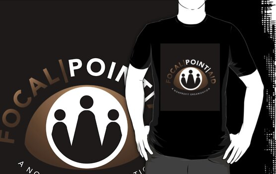Focal Point Aid T Shirt by Joe Mckay