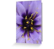 Climbing the Pollen Towers Greeting Card