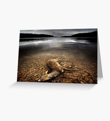 Surface Interruption-Loch Ness Greeting Card