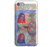 Madona of the Blue Peacoat iPhone Case/Skin