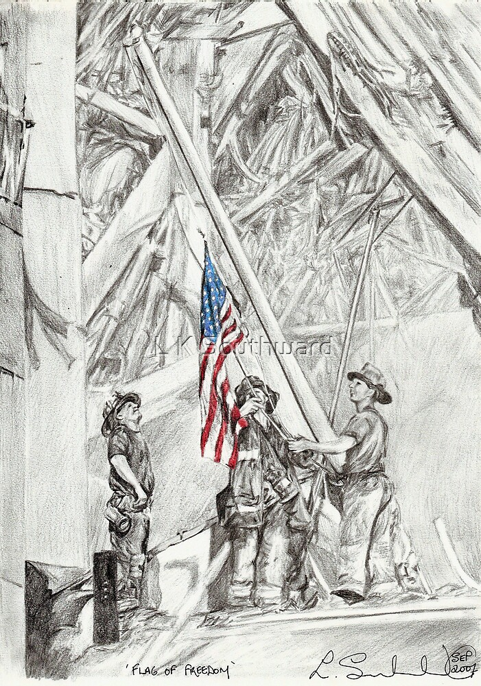 'Flag of Freedom' by L K Southward