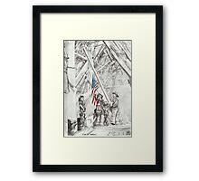 'Flag of Freedom' Framed Print