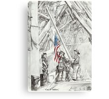 'Flag of Freedom' Canvas Print