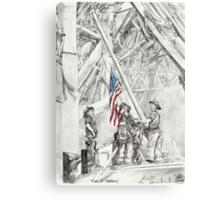 'Flag of Freedom' Canvas Print