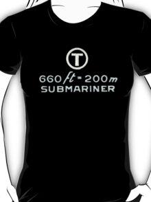 The Military Submariner - Rolex T-Shirt
