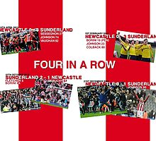 SAFC - Four In A Row by patternsmade