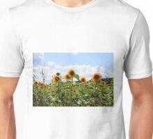 French Sunflowers Unisex T-Shirt