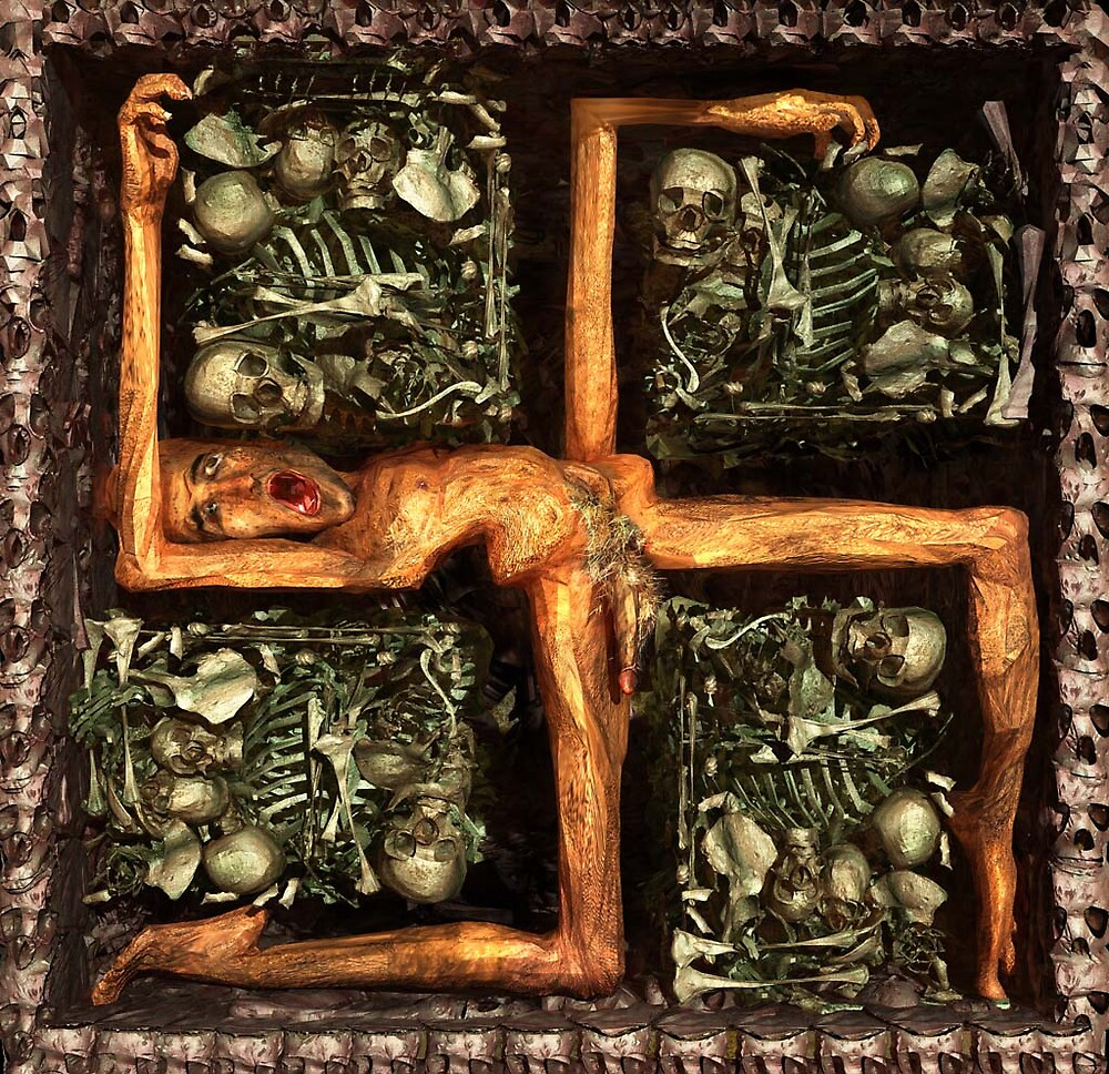"Ecce Homo 55 - ""HOLOCAUST"" by Polygonist"