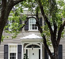 Old Home in Savannah by dbvirago