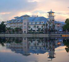 Celebration Hotel in Celebration, Florida by Rod Hawk