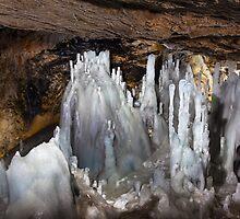 Scarisoara glacier in Romania, Apuseni national reserve by naturalis