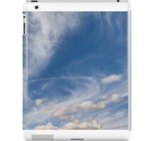 Monument Valley and Clouds6 iPad Case/Skin