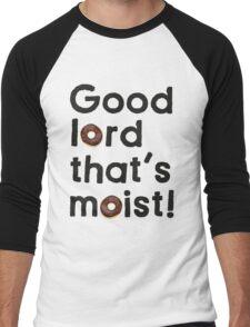 Good Lord That's Moist - Miranda Hart [Unofficial] Men's Baseball ¾ T-Shirt