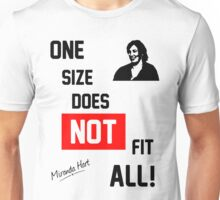 One Size Does NOT Fit All - Miranda Hart [Unofficial] T-Shirt