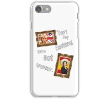 Don't Get Emotional, We're Not Spanish - Miranda Hart [Unofficial] iPhone Case/Skin