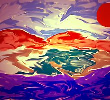 Sunsetsea by katekreations
