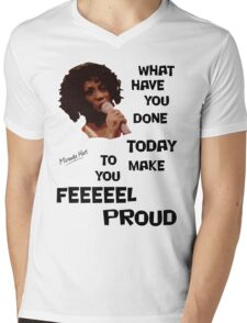 What Have You Done Today To Make You Feel Proud - Miranda Hart [Unofficial] Mens V-Neck T-Shirt