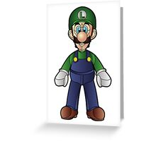 Luigi Greeting Card
