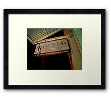 Mick's Framed Print