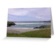 Seaview  Glencolumbkille, Donegal Ireland Greeting Card