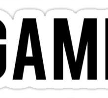 Eyebrow Game Strong Sticker