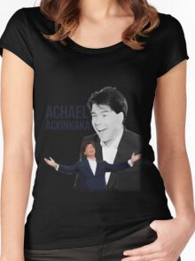 Michael McIntrye - Showtime - Achael Ackinkaka Women's Fitted Scoop T-Shirt