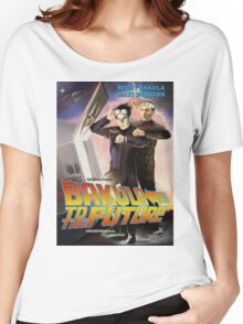 Bakula to the Future Women's Relaxed Fit T-Shirt