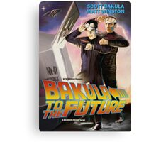Bakula to the Future Canvas Print