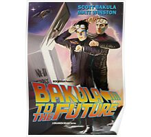 Bakula to the Future Poster