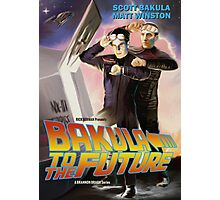 Bakula to the Future Photographic Print