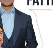 Jimmy Carr - Fatist Joke Sticker
