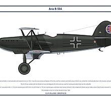 Avia B-534 Slovakia 2 by Claveworks