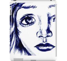 ANime girl face iPad Case/Skin
