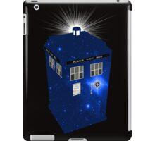TARDIS Illustrated- Galactic Blue iPad Case/Skin