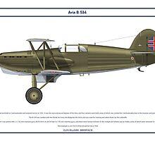 Avia B-534 Slovakia 5 by Claveworks