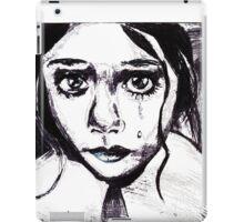 Crying child iPad Case/Skin