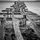 Derelict Pier by Dave Hare