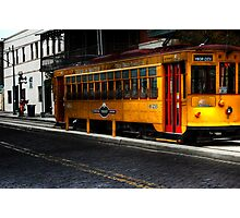 Trolley Composition Image Photographic Print
