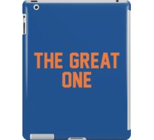 The Great One (EDM) iPad Case/Skin