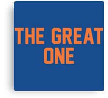 The Great One (EDM) Canvas Print