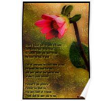 My Friend A Collaboration Bamagirl38 & Linda Brintzenhofe Poster