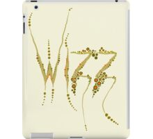 Wizz - Cream and brown iPad Case/Skin