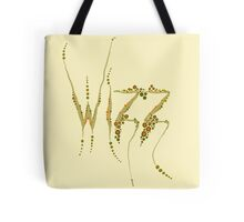 Wizz - Cream and brown Tote Bag